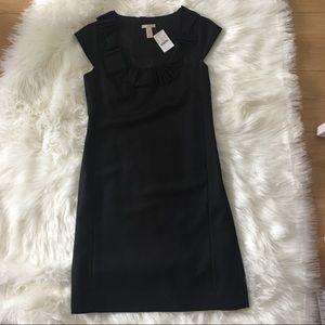 J. Crew women's Black Sleeveless Wool Dress NEW